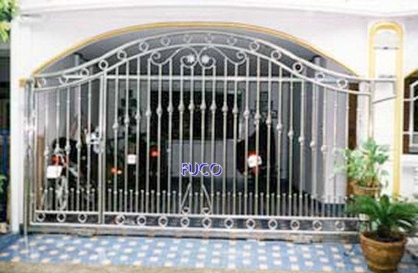 Cổng INOX mẫu đẹp 08