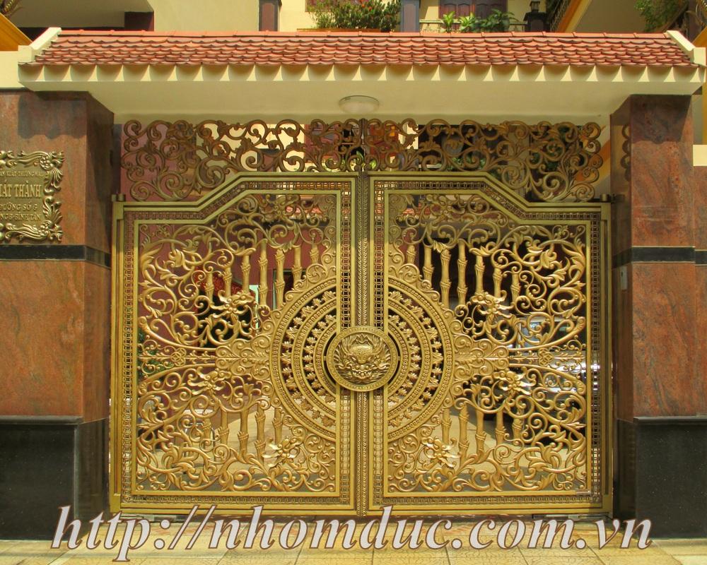 Cổng cửa nhôm đúc – Nhôm đúc Hà Nội, các dòng sản phẩm nhôm đúc như cửa nhôm đúc