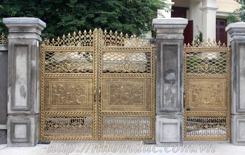 Nhôm đúc Hà Nội, Cửa cổng hợp kim nhôm đúc Fuco