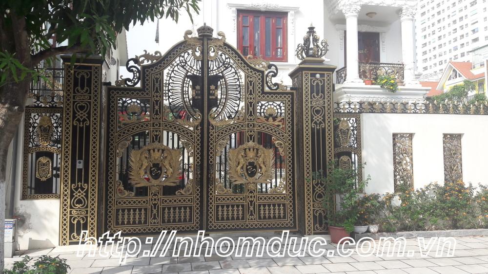 Mẫu cửa nhôm đúc, Nhôm đúc tại Hồ Chí Minh