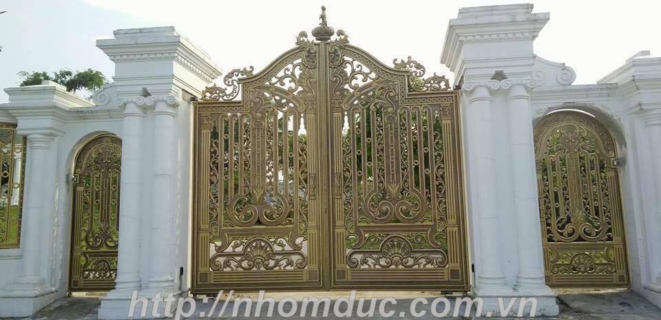 Cửa cổng hợp kim nhôm đúc, Nhôm đúc cao cấp