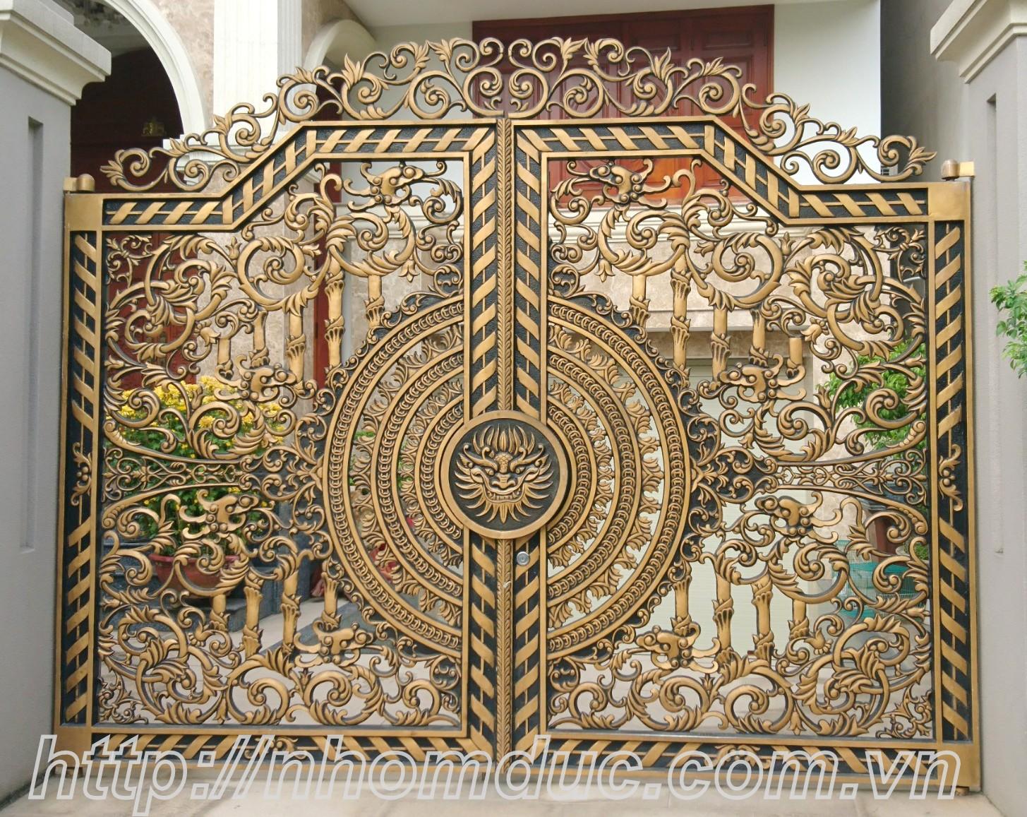 cửa cổng hợp kim nhôm đúc Bình Định, cửa cổng hợp kim nhôm đúc An Nhơn, cửa cổng hợp kim nhôm đúc Hoài Nhơn
