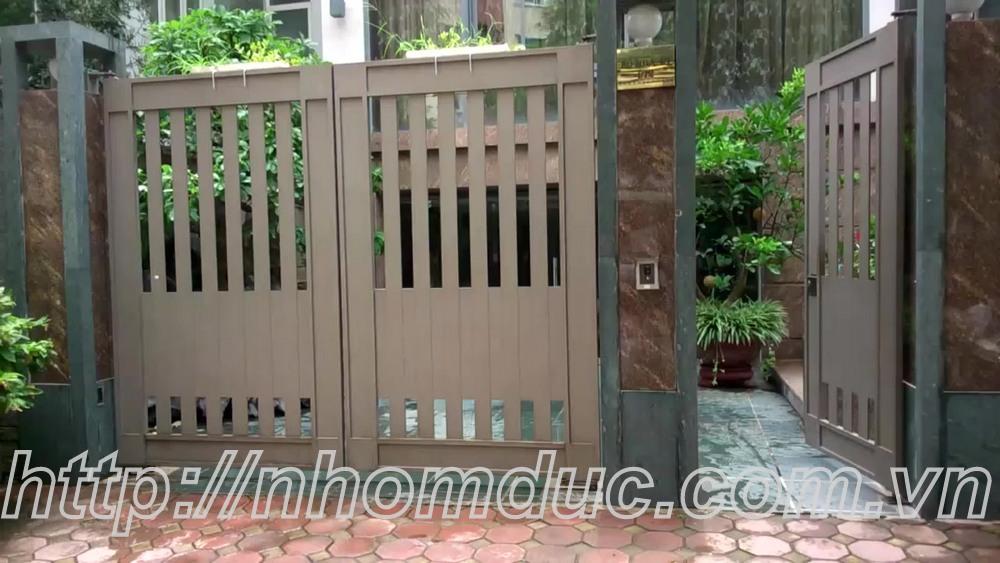 cửa cổng hợp kim nhôm đúc Quy Nhơn, cửa cổng hợp kim nhôm đúc Bình Dương