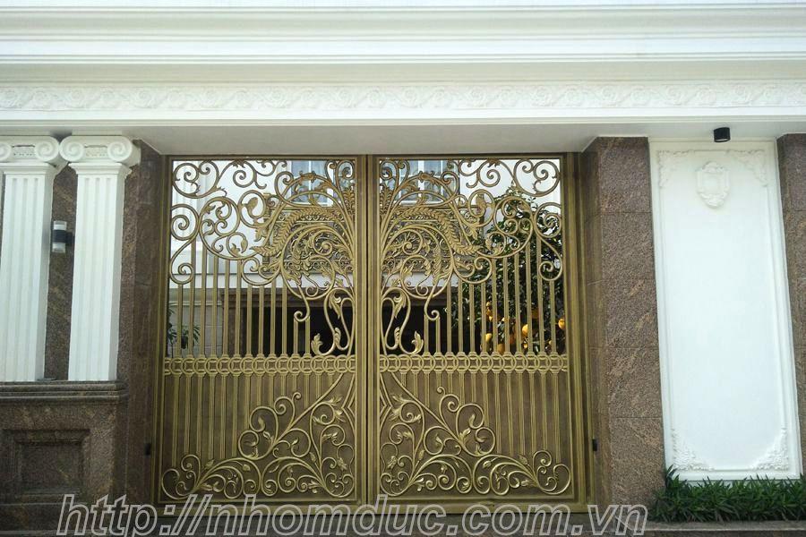 cổng nhôm hợp kim Hậu Giang,cổng nhôm hợp kim  Vị Thanh
