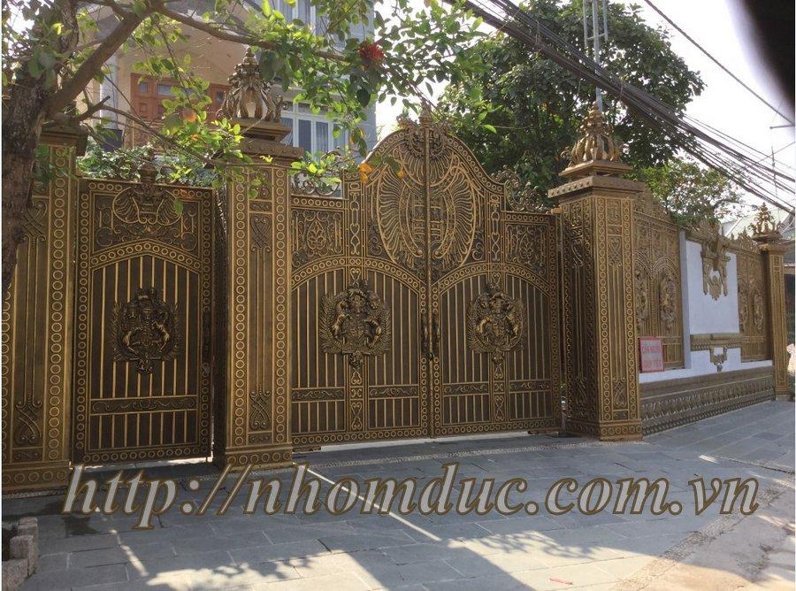 lắp cổng nhôm đúc Fuco Lào Cai, lắp cổng nhôm đúc Fuco Long An