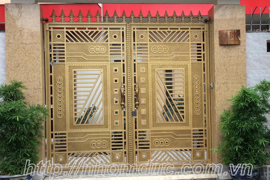 cửa cổng biệt thự nhôm đúc Fuco Thái Bình, cửa cổng biệt thự nhôm đúc Fuco Thái Nguyên