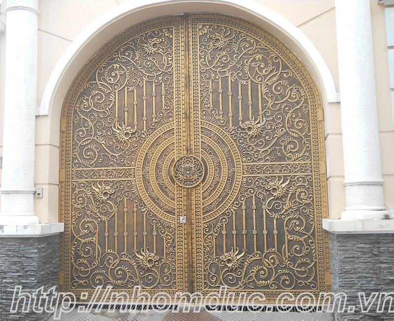 cửa cổng biệt thự nhôm đúc Fuco Sông Công, cửa cổng biệt thự nhôm đúc Fuco Thanh Hóa
