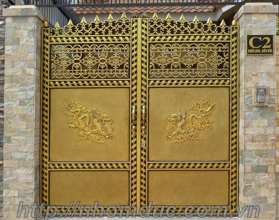 cửa cổng biệt thự nhôm đúc Fuco TP.Huế, cửa cổng biệt thự nhôm đúc Fuco Tiền Giang, cửa cổng biệt thự nhôm đúc Fuco Mỹ Tho