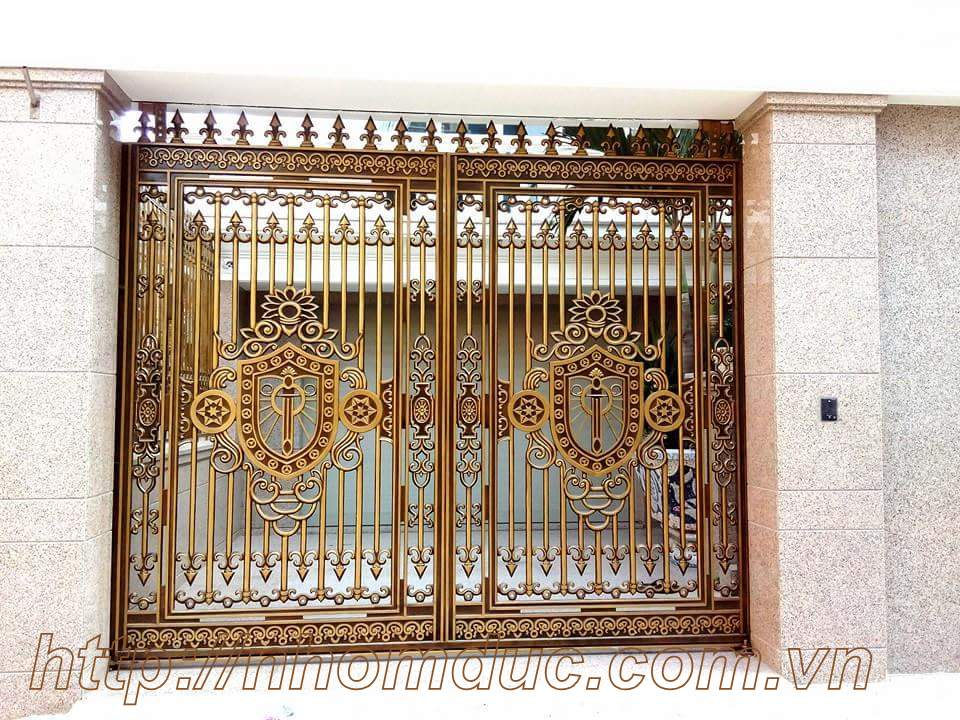 Báo giá cổng nhôm đúc