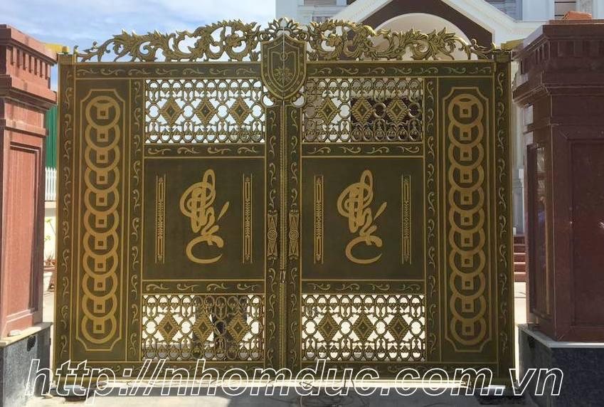 cửa cổng biệt thự fuco hà nội. Biệt thự cửa cổng nhôm đúc