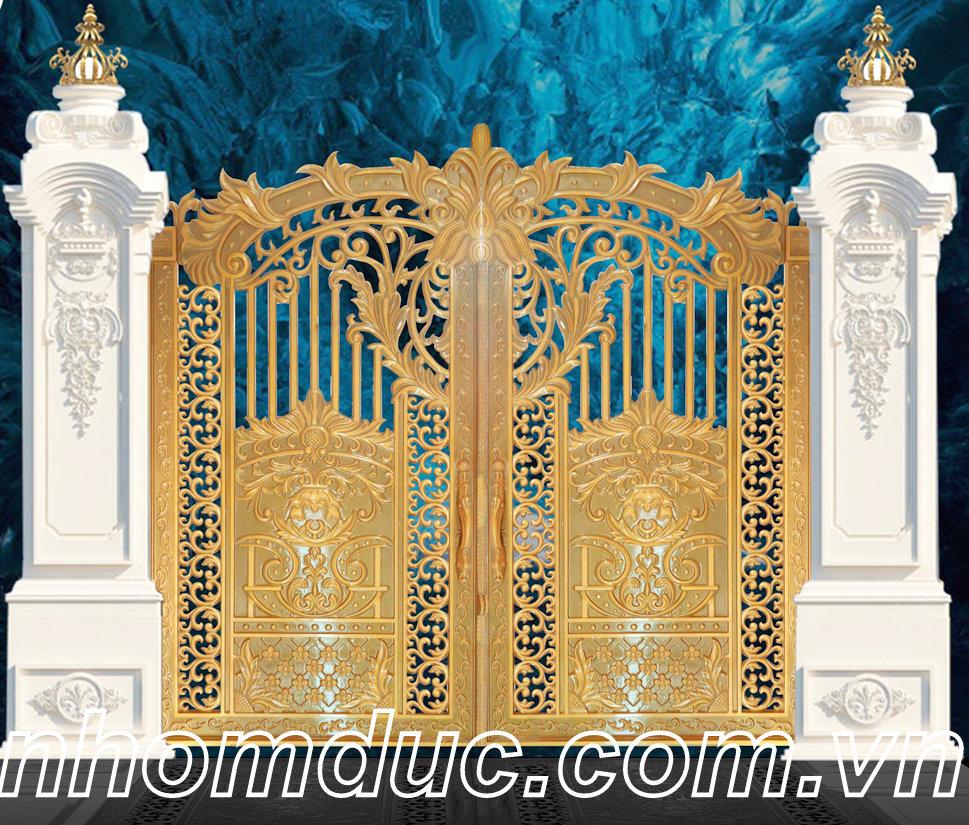 Xu hướng lựa chọn cửa cổng hợp kim nhôm dành riêng cho nhà biệt thự
