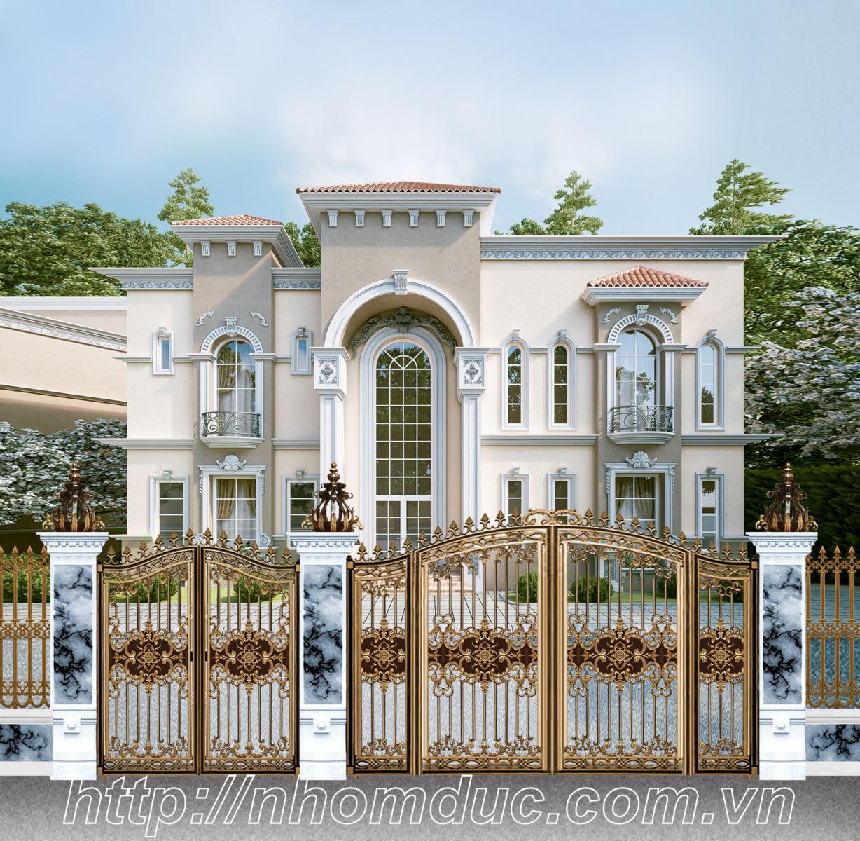 Cổng biệt thự Hà Nội