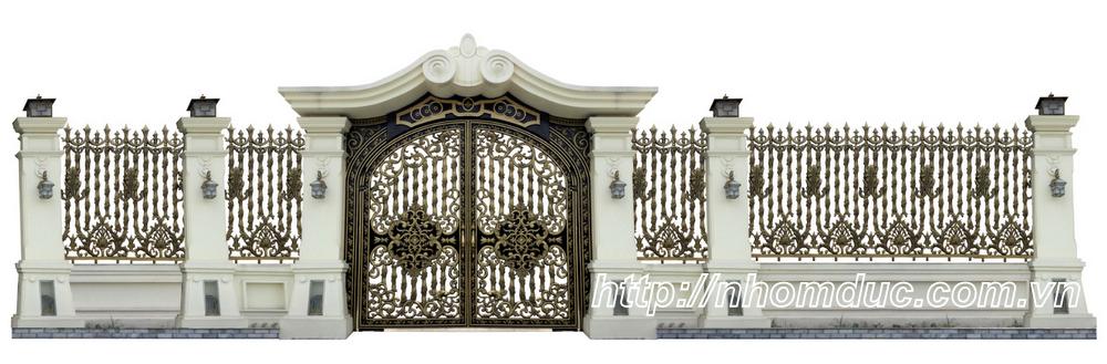 Cửa cổng hợp kim nhôm đúc, sản phẩm nhôm đúc công nghệ Nhật Bản. Nhôm đúc Fuco như cổng nhôm đúc, lan can, hàng rào nhôm đúc có nhiều tính năn