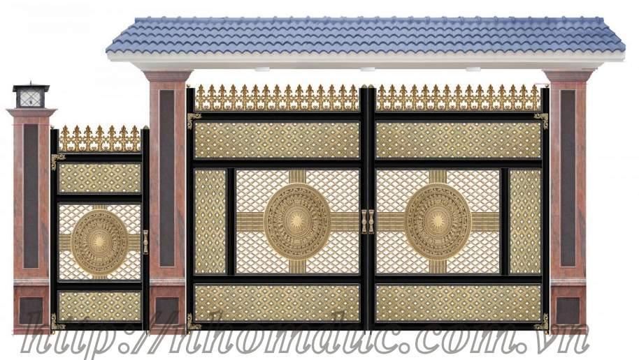 cổng nhôm đúc giá rẻ Fuco Cà Mau, cổng nhôm đúc giá rẻ Fuco Cao Bằng, cửa nhôm đúc Đắk Lắk