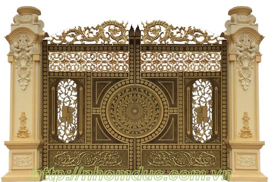 cửa cổng hợp kim nhôm đúc An Nhơn, cửa cổng hợp kim nhôm đúc Hoài Nhơn, cửa cổng hợp kim nhôm đúc Quy Nhơn