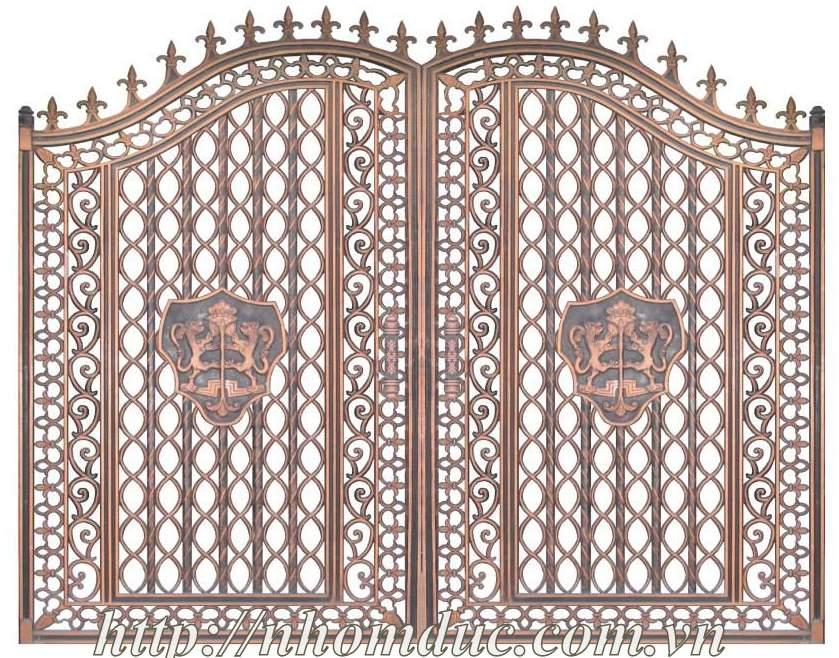 Nhôm đúc Miền Bắc, Báo giá cổng nhôm đúc