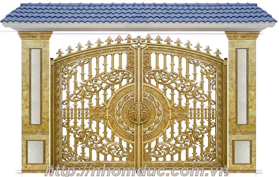 Cửa cổng hợp kim nhôm đúc, sản phẩm nhôm đúc công nghệ Nhật Bản. Nhôm đúc Fuco có nhiều tính năng nổi trội nhất hiện nay