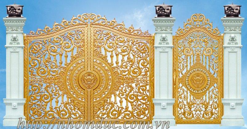 Chuyên sản xuất cổng nhôm đúc, cửa nhôm đúc, lan can nhôm đúc, hàng rào nhôm đúc, bông gió nhôm đúc.