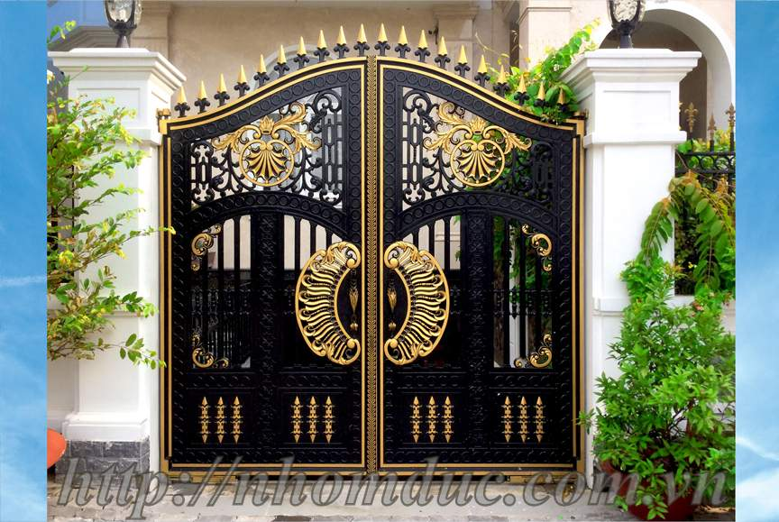 Báo giá nhôm đúc dạng thoáng, bao gia nhom duc Fuco, Báo giá nhôm đúc, báo giá các loại cổng nhôm đúc từ cổng nhôm đúc đơn giản đến cổng nhôm đúc