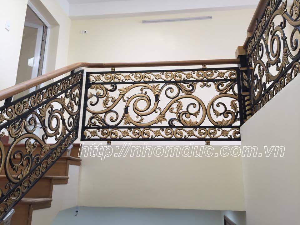 giá cầu thang nhôm đúc, Cầu thang hợp kim nhôm đúc với nhiều nét sang trọng là cầu thang đẹp và bền, cầu thang nhôm đúc