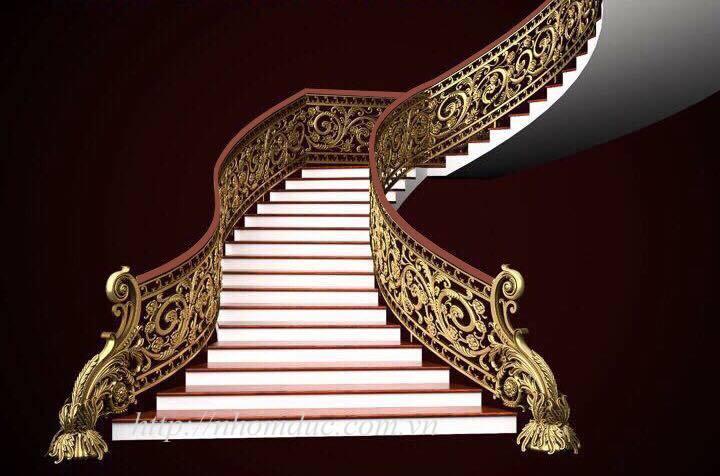 Báo giá cầu thang hợp kim nhôm đúc, giá cầu thang nhôm đúc, báo giá các loại cầu thang nhôm đúc con tiện, cầu thang nhôm đúc vỉ, cầu thang nhôm đúc cong.
