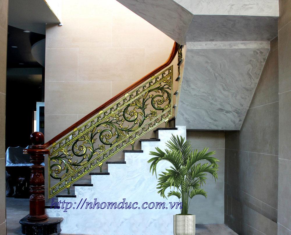 Báo giá cầu thang nhôm đúc, Cầu thang hợp kim nhôm tại TpHCM