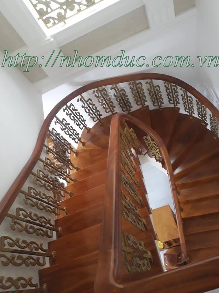 Báo giá cầu thang hợp kim nhôm đúc, các loại cầu thang nhôm đúc Fuco