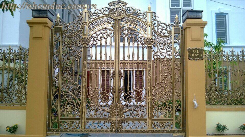 Báo giá nhôm đúc tại Hà Nội và các tỉnh thành tại Việt Nam. Báo giá cổng nhôm đúc, lan can, cầu thang, hàng rào, hộp đèn, trụ nhôm đúc với giá thành cạnh