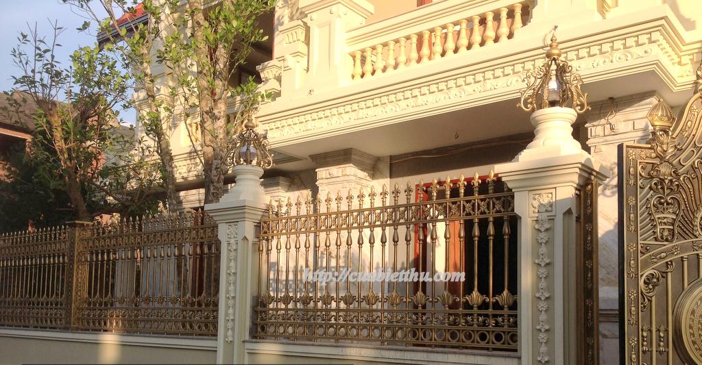 Cửa cổng hàng rào nhôm đúc
